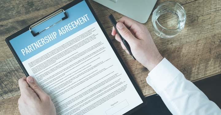 Assemble a Compact Partnership Agreement